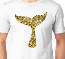 Mermaid Tail - Gold Unisex T-Shirt