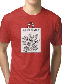 Big Bag of Weird Tri-blend T-Shirt