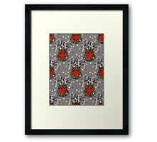 Funny Reindeer Framed Print