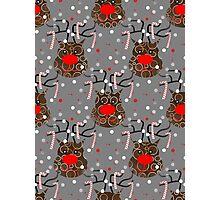 Funny Reindeer Photographic Print