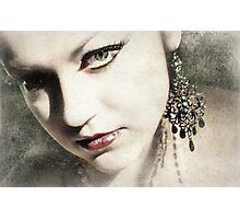 Obliquely Photographic Print