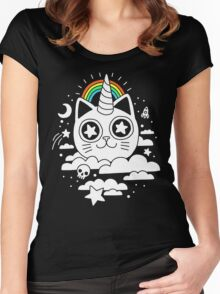 This Is Your Cat On Catnip Women's Fitted Scoop T-Shirt