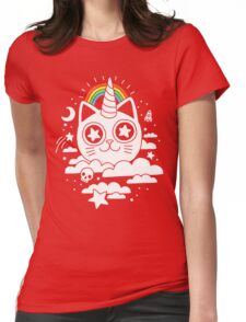 This Is Your Cat On Catnip Womens Fitted T-Shirt