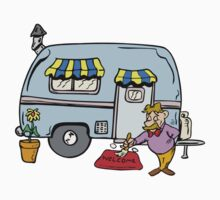 Camping Trailer Welcome One Piece - Short Sleeve