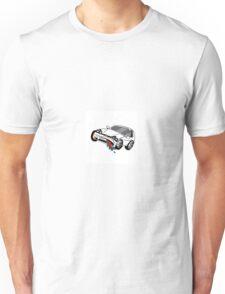 2012 Volkswagon GTI Cartoon Unisex T-Shirt