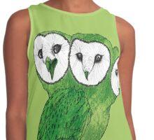 Owls Contrast Tank