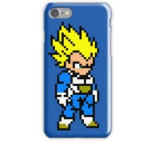Vegeta super sayan 8 bit iPhone Case/Skin