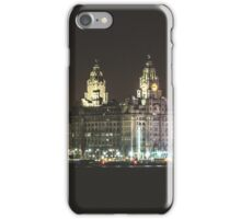 Liverpool Waterfront Skyline iPhone Case/Skin