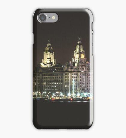 Liverpool Waterfront Skyline iPhone Case/Skin
