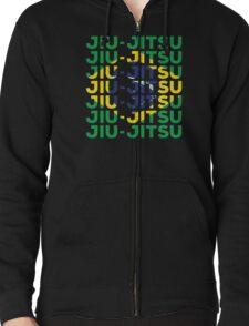Brazilian Jiu-Jitsu Repeater Zipped Hoodie