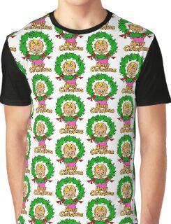 Merry Christmas Cindy Lou  Graphic T-Shirt