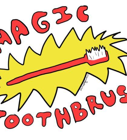 Magic Toothbrush Doodle Sticker
