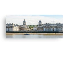 Greenwich Naval College  (could almost be an 18th century print) Canvas Print
