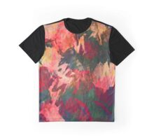 Abstract Art, Autumn Leaves Graphic T-Shirt