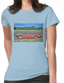MG B Roadster Womens Fitted T-Shirt