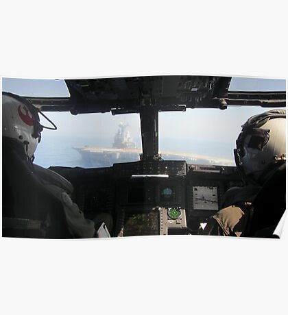 Pilot's View Poster