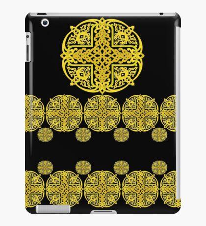 golden stamp iPad Case/Skin