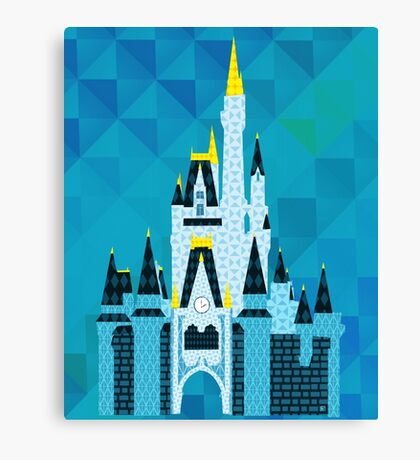 Crafty Castle Canvas Print