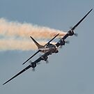 Sally B tribute, IWM, Duxford, Cambs, England by Cliff Williams
