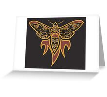 Flame Into Moth Greeting Card