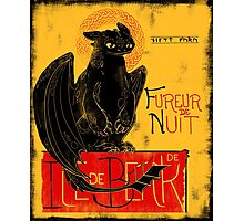 Fury of the Night - Vintage Edition Photographic Print