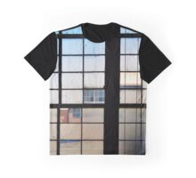 Window At The American Airpower Museum | Farmingdale, New York Graphic T-Shirt