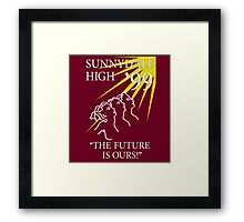 Sunnydale Yearbook 99 Framed Print