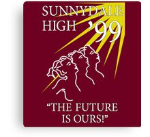 Sunnydale Yearbook 99 Canvas Print