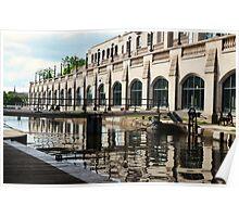 Rideau Canal ~ Ottawa Locks Poster