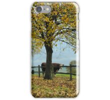 An English Road in Autumn ( 2 ) iPhone Case/Skin