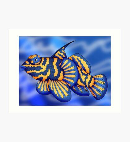 Mandarin Fish Art Print