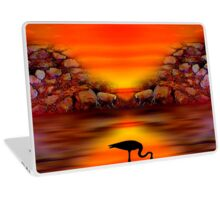 Sunset 9 Laptop Skin