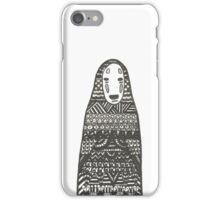 No Face - Spirited Away iPhone Case/Skin
