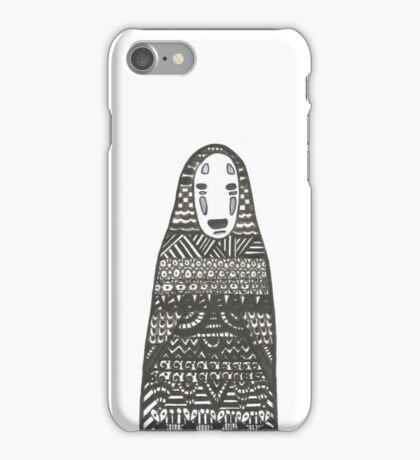 No Face - Spirited Away iPhone Case/Skin