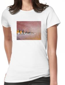 Memory of a vacation #20 Womens Fitted T-Shirt