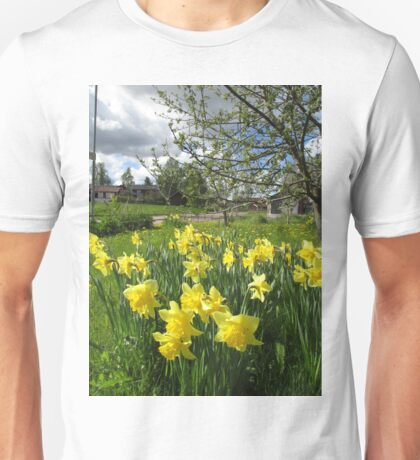 Daffodils and Dandelions Unisex T-Shirt