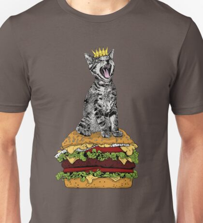 Cat Burger Unisex T-Shirt