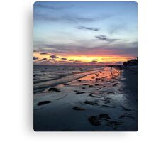 Chasing the Sun Canvas Print