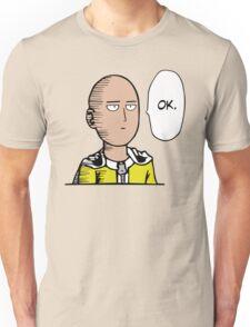 Saitama Ok Anime Manga Shirt Unisex T-Shirt