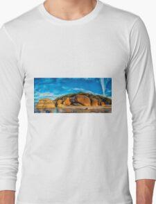 Squeaky Beach Panorama Long Sleeve T-Shirt