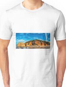 Squeaky Beach Panorama Unisex T-Shirt