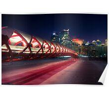 Calgary Peace Bridge Poster