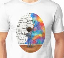 Always Keep Fighting Watercolor Painting (2015) REVAMP Unisex T-Shirt