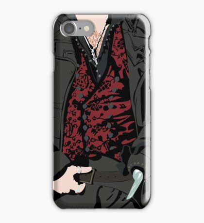 Hook's Vest iPhone Case/Skin