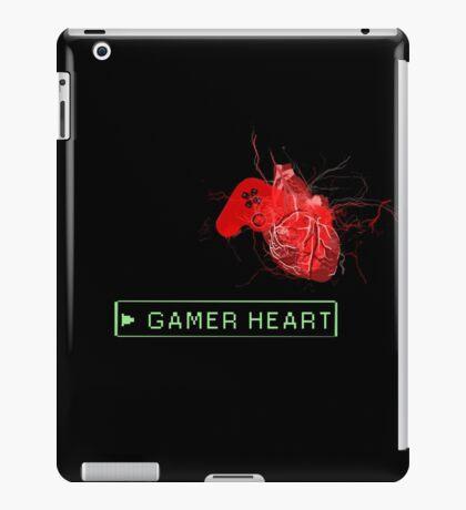 Gamer heart iPad Case/Skin
