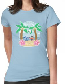 Welcome To Alola! Womens Fitted T-Shirt