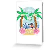 Welcome To Alola! Greeting Card