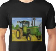 Green Tractor  Painting  Unisex T-Shirt