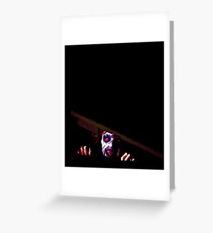 EVIL DEAD - CELLAR 80's Greeting Card