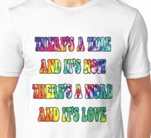 There's a word Unisex T-Shirt